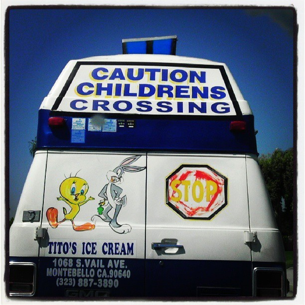 Watch out for childrens crossing.