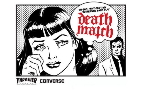 We are playing this years Thrasher Magazine / Converse Death Match Party at SXSW Festival!   OUTDOOR STAGE // March 14th  12PM - PAWS 1PM - THE ORWELLS 2PM - BLEACHED 3PM - KING TUFF 4PM - CHELSEA LIGHT MOVING  5PM - BLACK ANGELS