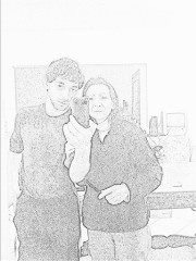 My mam and me, for all curios