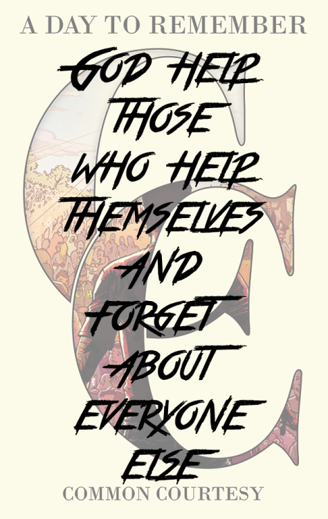 A Day To Remember Lyrics Tumblr lyrics edit a day to r...