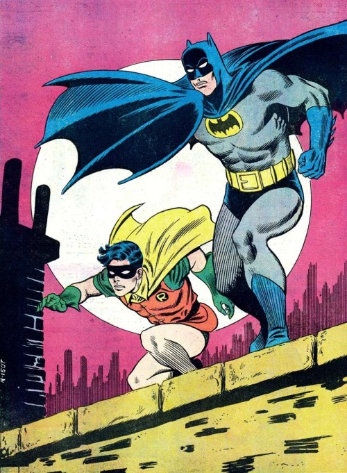 art-of-illlustration:  Carmine Infantino - Batman and Robin