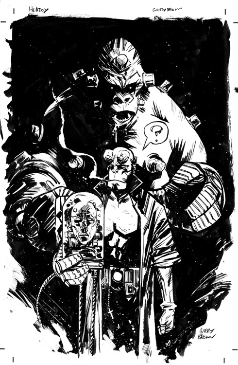 Hellboy by Garry Brown