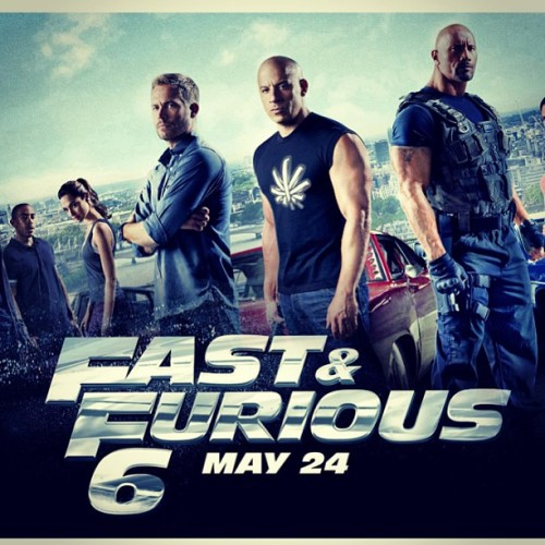 Vin diesel wearing a #kushandkicks shirt in the new #fastandfurious movie. This is totally real.