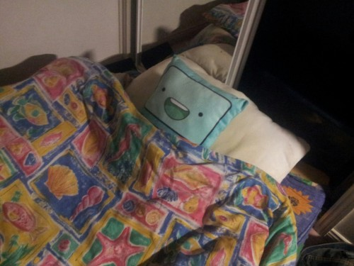 purplefridge:  browningtons:  purplefridge:  goodnight beemo  he looks like hes getting ready to fap