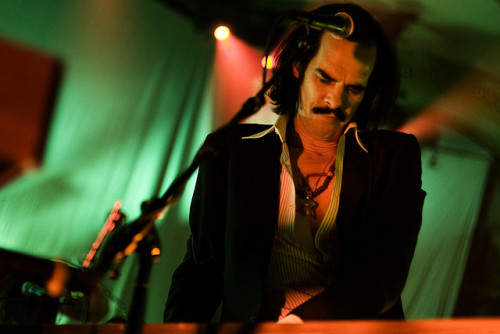 Nick Cave  on Flickr.Via Flickr: Live at McMenamins Crystal Ballroom in Portland OR