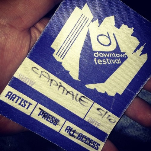 TDE concert low key  (at Capitale)
