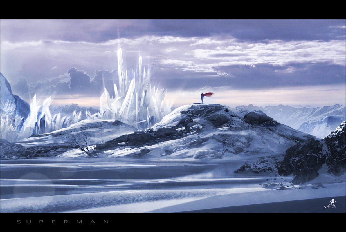 Superman: Fortress of Solitude by Andy Fairhurst