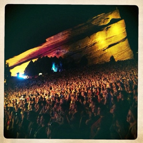 "Hey everyone,  RED ROCKS IN JULY!!!!!! Ok, I couldn't contain myself - the secret is out!  I hope you all had a great Easter?! The daffodils finally came out and my dogs are still running around the yard finding the Easter eggs all the kids didn't get to yesterday!  As the summer is fast approaching, I wanted to tell you all how excited me and the twins are to get back out on the road. We have some new tricks up our sleeves and some incredible shows lined up. But the show I am most excited to tell you about is RED ROCKS!!! That's right, they asked us to come back on July 13th! We're really proud to welcome our special guests, Blind Pilot and The Lone Bellow. It's going to be an incredible show at the most stunning music venue in the country! Fan pre-sale begins at 10am mountain time on Tuesday, April 2 - so make sure you get your tickets! We'll also be offering a ""Hearts Content"" ticket package for an extra special Red Rocks experience, the proceeds of which will benefit the Looking Out Foundation.  We know how many of you traveled from all over creation to see us last year and we want you to do it again, you won't regret it!  I'll meet you in the mountains of Colorado,  Love Brandi and The Twins x"