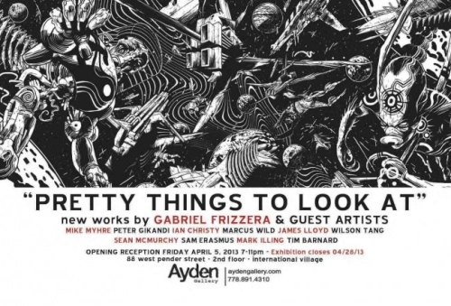 If you're in town this April, I'm in this art show on April 5th at the Ayden Gallery in Vancouver, BC. Once the show has premiered I'll post all my pieces from it on this Tumblr.