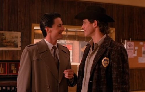 Twin Peaks (1990-1991) - April/May  Dale Cooper: Harry, I have no idea where this will lead us, but I have a definite feeling it will be a place both wonderful and strange.