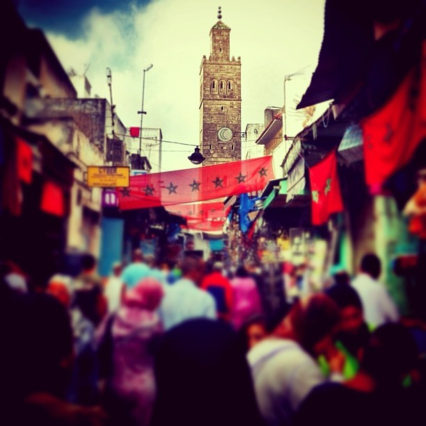 Old city market in Rabat #peacecorps #morocco #latergram