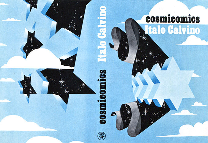 Italo Calvino - Cosmicomics, 1968 Artwork by Dudley Edwards via Sci-Fi-O-Rama