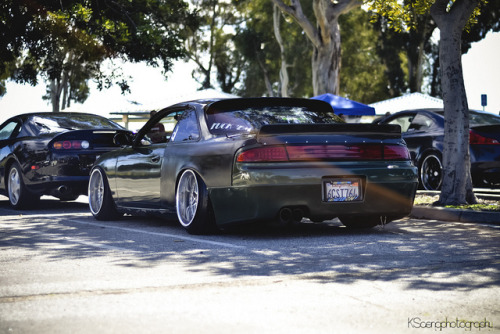 phokingrice:  Derek's S14 by KSaengphotography on Flickr.