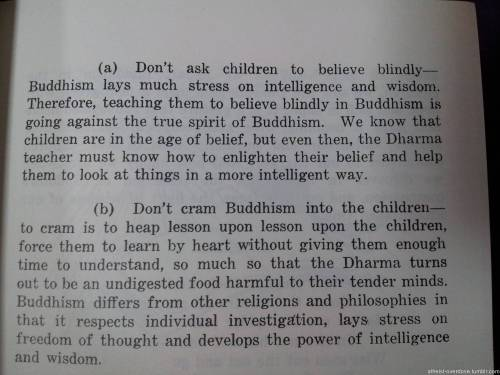 atheist-overdose:  Found this in a Buddhism lesson guide. If only this was the standard…follow for the best atheist posts on tumblr