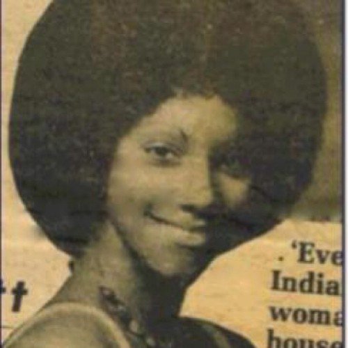 Happy Mother's Day mummy.. #youngbeauty #afro #soulrebel