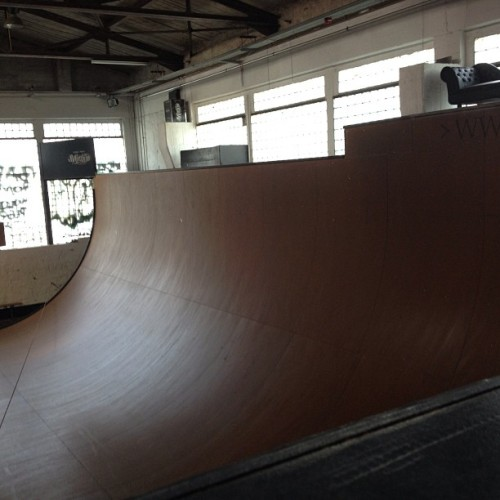 #vert stoked. Thank you #berlin #skateboarding (at Skatehalle Berlin)