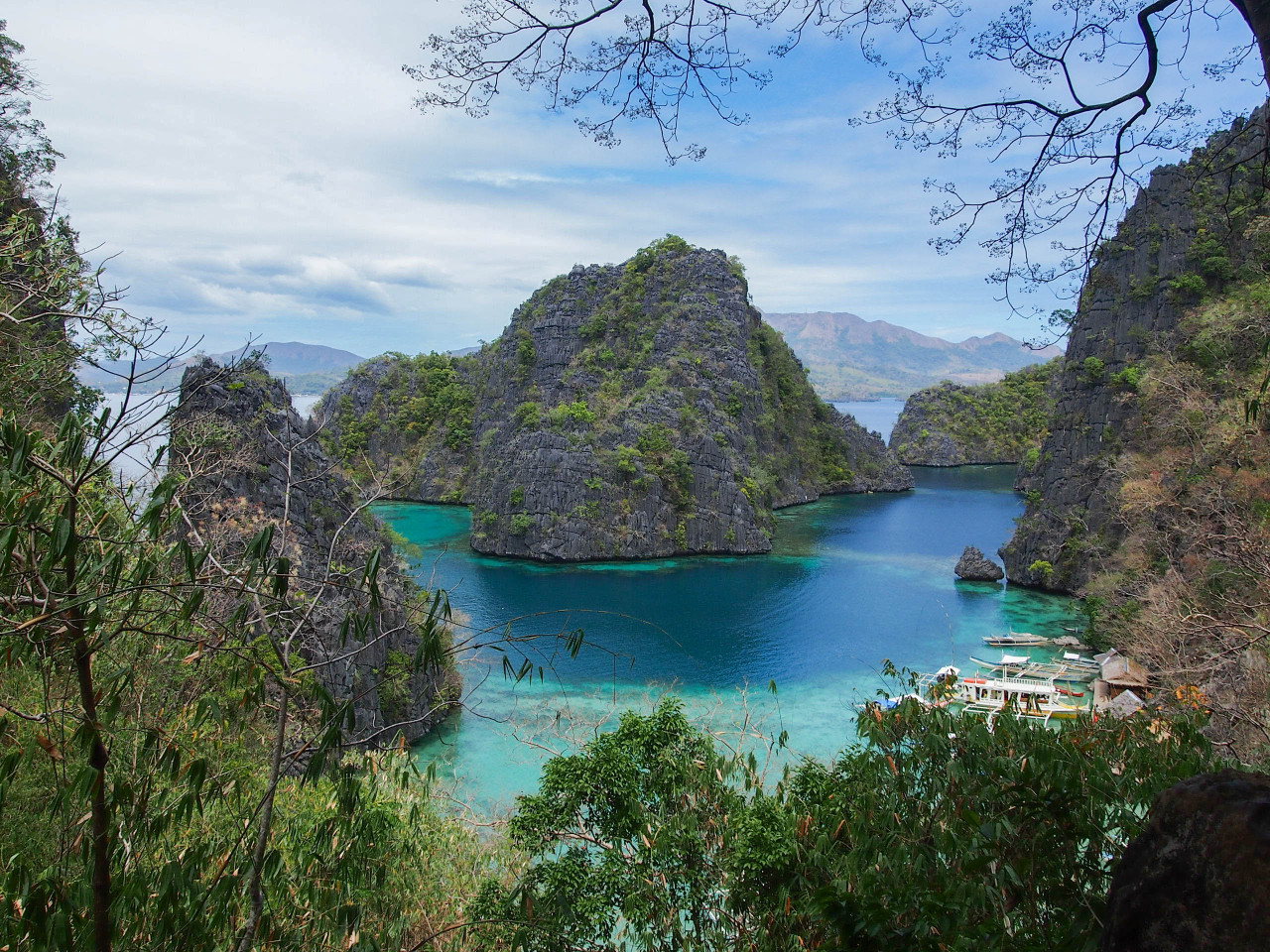 Coron Island, Palawan, Philippines by Samantha Craven Apologies for not posting or answering your questions in a while. I've been in Coron to be a speaker for Green Fins at a Sustainable Tourism workshop run by the Coron Initiative.  It's been an awesome few days, learning, networking, and getting distracted by the view. Updates to follow!