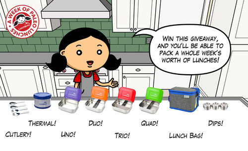 Giveaway: LunchBots Swag! by Michelle Tam http://nomnompaleo.com