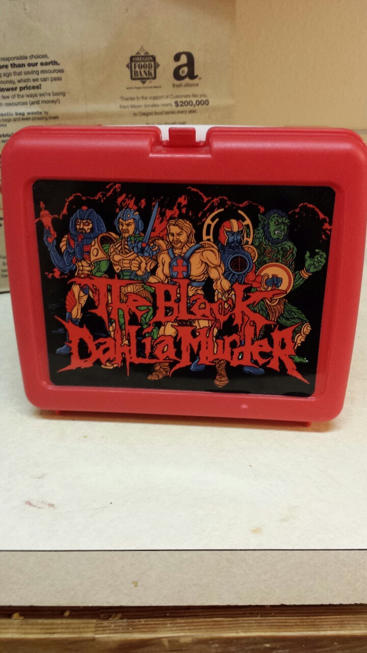 But have you seen my lunchbox?