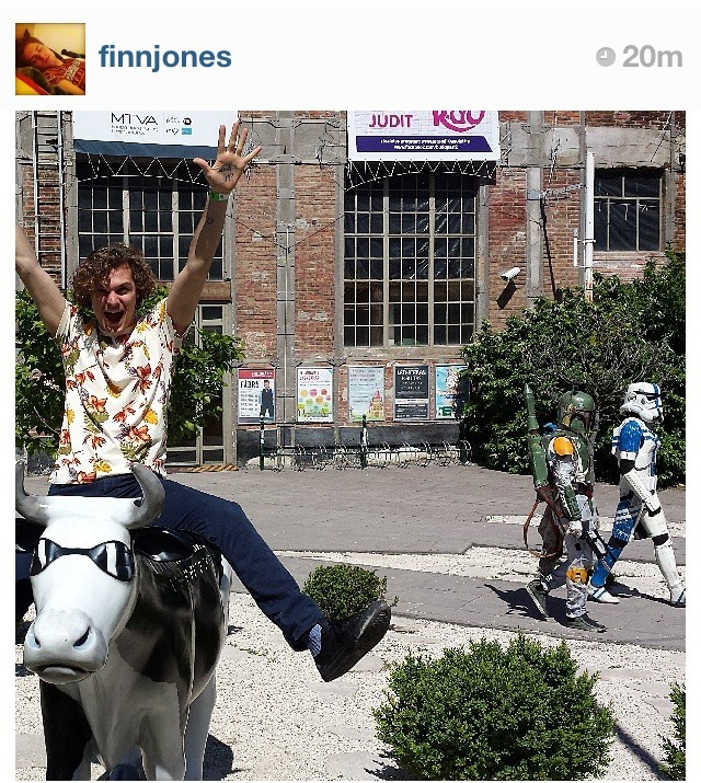 asongoficeandfandom:  can we talk about finn jones's instagram?