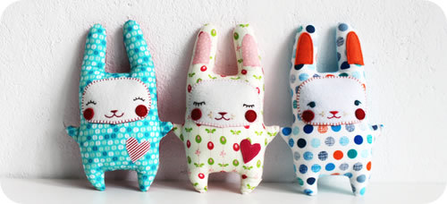 Stuffed Bunny Sewing Tutorial (from Revoluzzza) this is possibly the cutest thing i've ever seen!