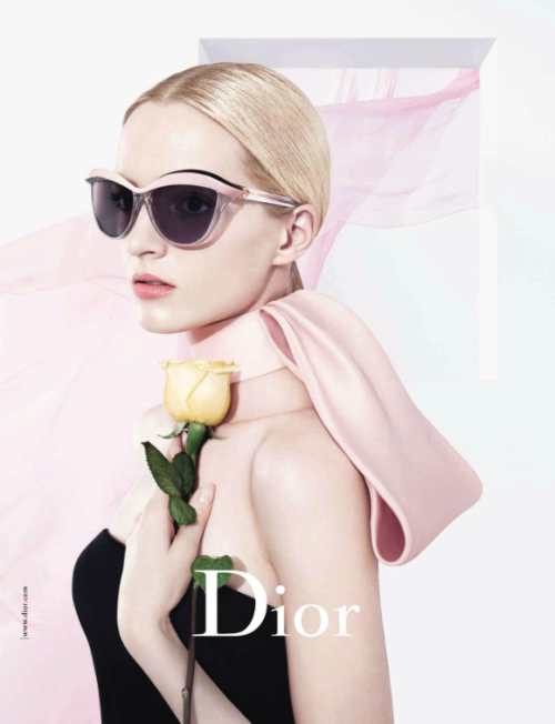 sfilate: Daria Strokous for Dior Eyewear S/S 2013
