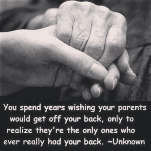 #Parents #Forever have #Your #Back #Love #Respect #Appreciate what you have while you have it. #Family #Strong #Lock #Hands #Beautiful #Special #Caring #EverLasting