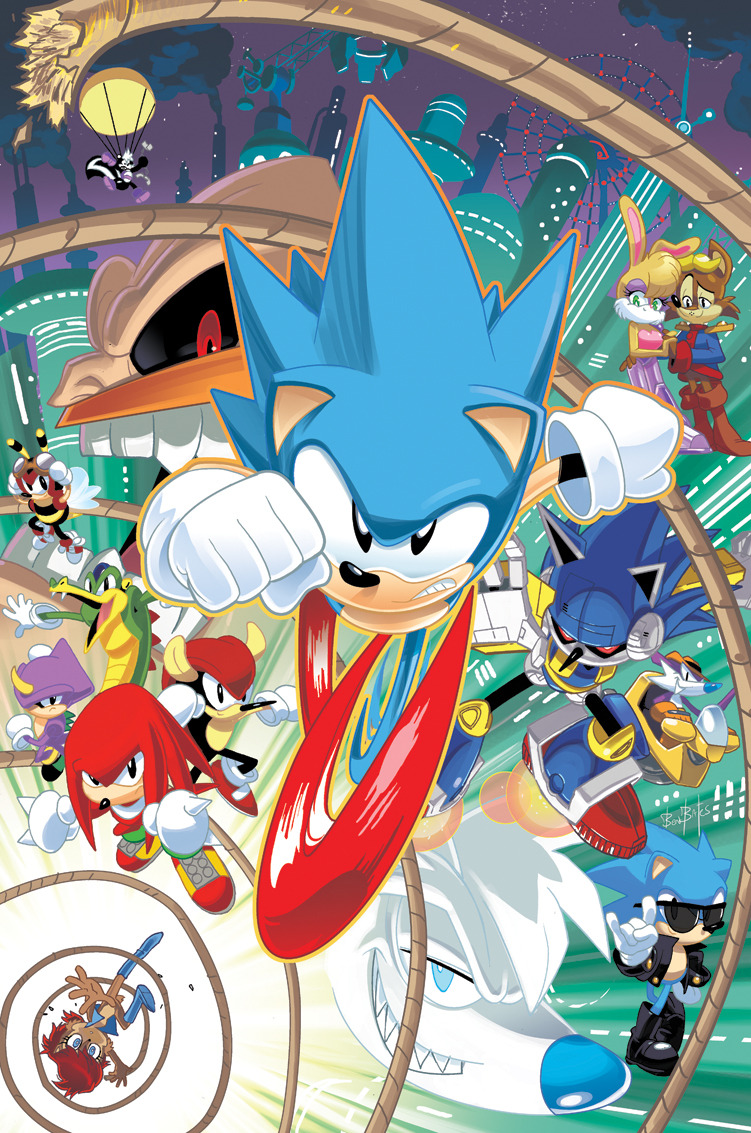 Ben Bates Sonic The Hedgehog- Cover collection 1  Sonic Legacy Vol.3 Sonic Legacy Vol.1 Sonic Legacy Vol.2 Sonic Super Special Magazine #3 Sonic Super Special Magazine #4 Best of Sonic the Hedgehog Villains -colored by Dave Devries http://anubithefrog.deviantart.com