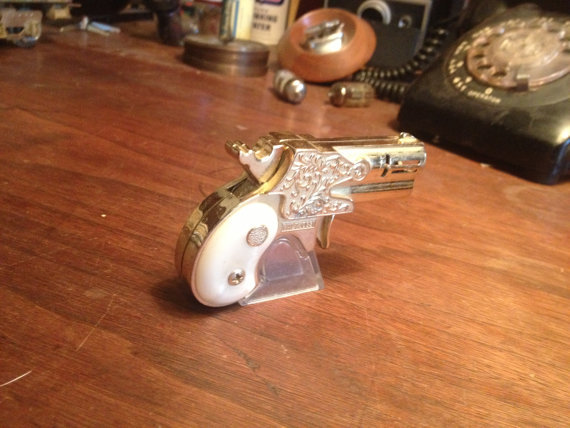 Derringer Lighter at Accoutrement For The Gentleman