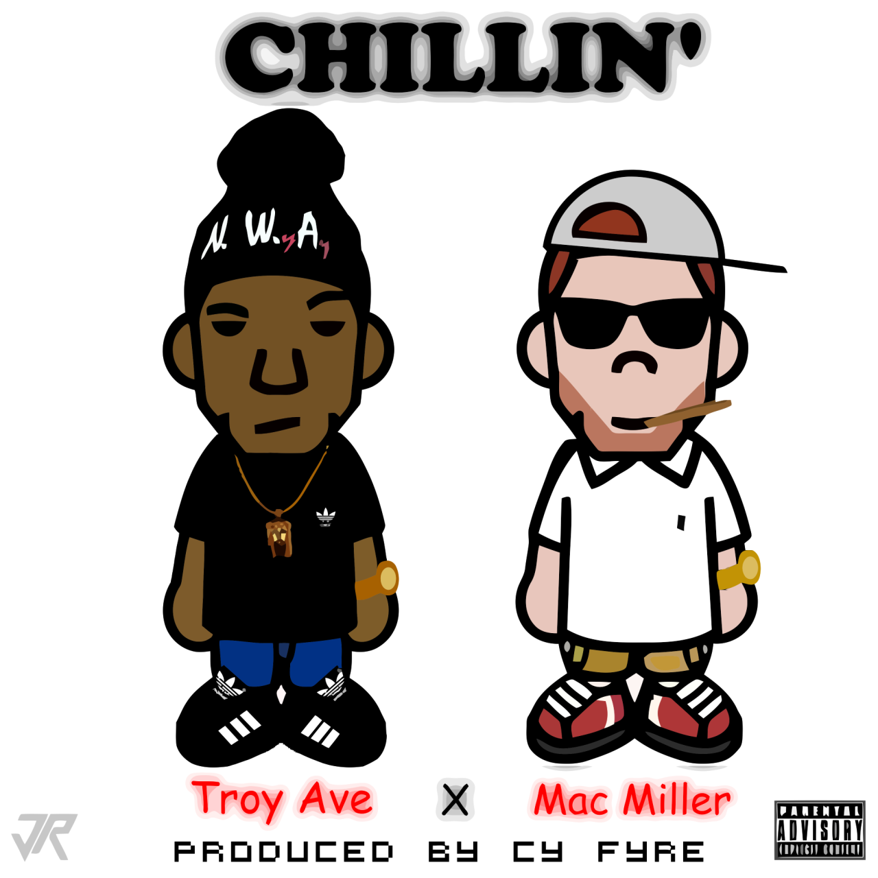 breathe-easy-live-free:    Troy Ave — Chillin' ft. Mac Miller   Brooklyn meets Pittsburgh in this new jam from Troy Ave featuring Mac Miller which will appear on Troy's upcoming project White Christmas.  > download