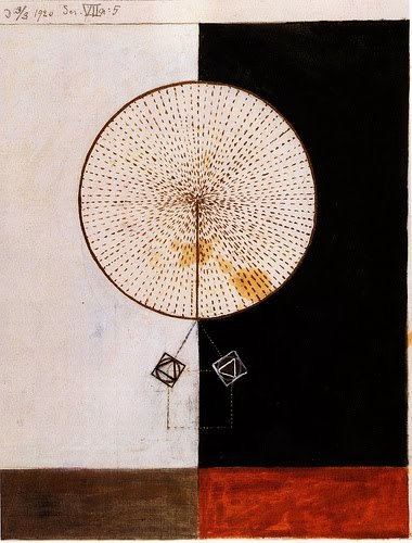 outtsidethelines:  Hilma af Klint  the first abstract artist?