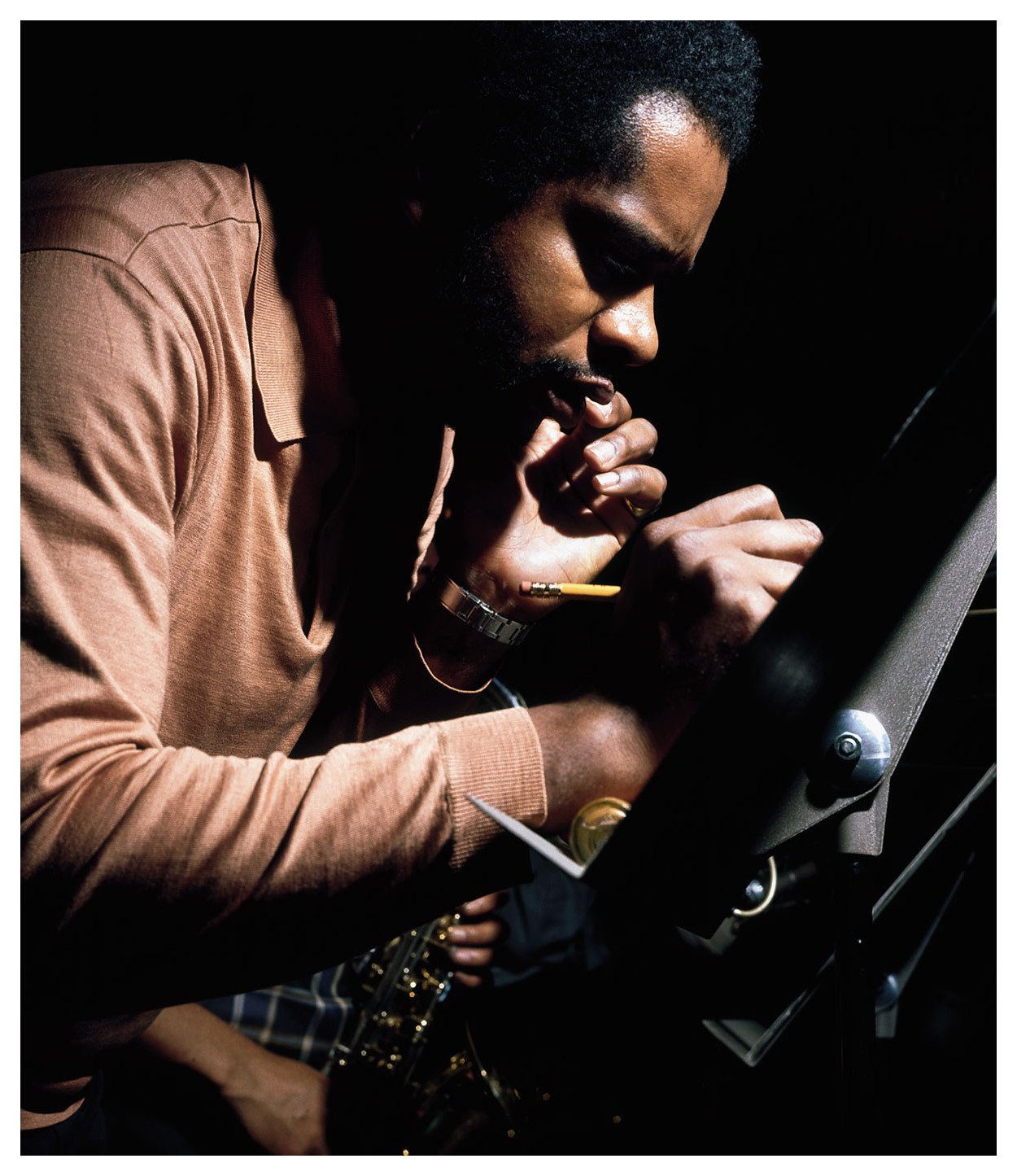 Donald Byrd by Francis Wolff.  Kofi sessions, 1969.