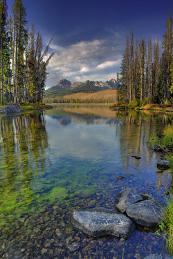 unwrittennature:  Little Redfish outlet IdahoBy The Knowles Gallery☆