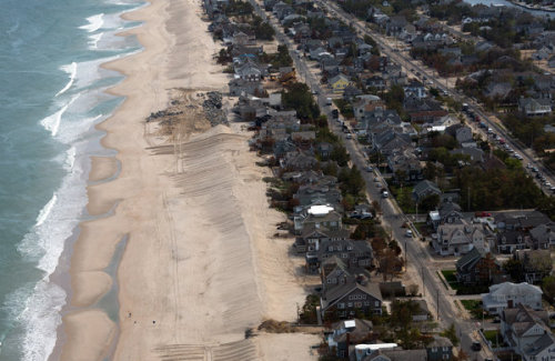 "massurban:  The New York Times:  ""Rebuilding the Coastline, but at What Cost? By Jenny Anderson. May 18, 2013 When a handful of retired homeowners from Osborn Island in New Jersey gathered last m""I said, look people, you built on a marsh island, it's oxidizing under your feet — it's shrinking — and that exacerbates the sea level rise,"" said Dr. Hales, director of the Barnegat Bay Partnership, an estuary program financed by the Environmental Protection Agency. ""Do you really want to throw good money after bad?"" Their answer? Yes"" Photo: Richard Perry/The New York Times"
