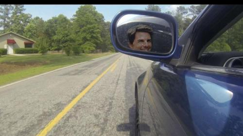 Tom Cruise is a car thief.