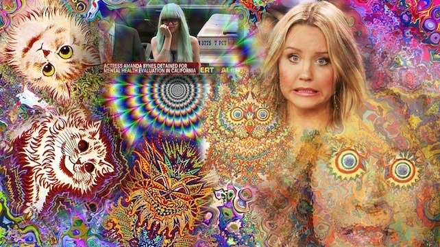 The Sexist Illuminati Mind Control Conspiracy Behind Amanda Bynes' Mental Breakdown Amanda Bynes's reign of Twitter terror ended two weeks ago when authorities placed her on a 5150 psych hold for setting a fire in the driveway of an old lady rocking a bowl cut. Doctors have allegedly diagnosed her withschizophrenia, which would explain her proclivity fortwerking on gym machines, callingDegrassistar Aubrey Graham ugly, and flitting around New York in a menagerie of tragic wigs. But this hasn't stopped a faction ofthe internet from believing Amanda is actually a victim of monarch mind control, an Illuminati practicewidely used by the Walt Disney Corporation and Teen Nick tomonetize and sexualize young starlets. Supposedly developed in its currentformby the C.l.A. to subdue American citizens, monarch mind control is being used by the Hollywood industrial complex to micro-manage child stars. The monarch mind control victims are calledkittensand the executives and managers that control them are known ashandlers. Supposedly, the handlers take a precocious kitten, such as anAll Thatera Amanda Bynes, and subject her to mental and sexual abuse until her personality fractures and separates like a horcrux, making her unquestioning and compliant. The handlers then conclude the abuse with a weirdAdams Family Valuessummer camp punishment, where the kittenwatchesThe Wizard of Ozover and over again till submitting to her handlers gives her true
