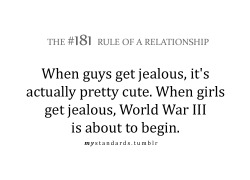mystandards:  Jealousy.. how do you handle it?
