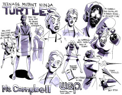 "Take a closer look at evil school nurse, Ms. Campbell, from the #NickTurtles episode ""The Alien Agenda"" http://www.turtlesvsfoot.com"