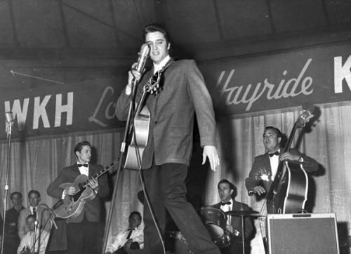April 3, 1948: The country radio show Louisiana Hayride is first broadcast from the Municipal Auditorium in Shreveport, Louisiana. It launched the career of Elvis Presley and gave Hank Williams his first wide radio audience.