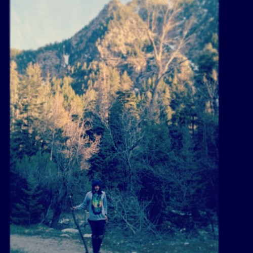 Exploring the mountains with @xadamcabalx on a day off.  #Nature #BryanStarsTour