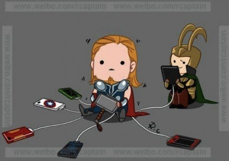 inubunny:  a good use for Thor's powers…