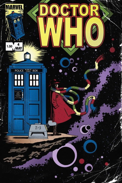 Marvel Comics Doctor Who Issue 4