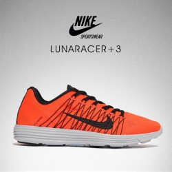 Nike Lunaracer+ 3 ~ Available in selected stores and online now ~ Sizes range from 6 - 12UK, priced at £90 (at product code: 003635)