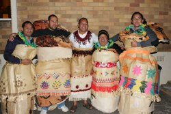 "Nane & his Fa'e Huki's :) Aunty Nasi explains this further: In Tongan tradition, ""fa'e huki"" is the person/s the bride/groom can sit on to rest. It is your mother's brothers (and their children). So basically, your uncles and first cousins, his children will be at your feet (or behind you) during the celebration. You may also sit on your Fa'e Huki."