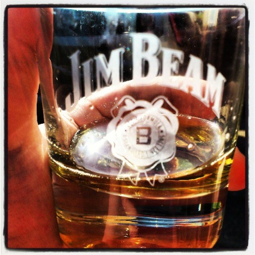 On my day off. #JimBeamHoney  #JimBeam