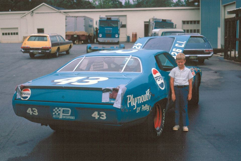 murdercycles:  Local Mopar freak Kevin Hodge got to visit Petty Enterprises a few times as a child. His father was a racing photographer. 11 Photo courtesy Kevin Hodge & Howie Hodge https://www.facebook.com/kevindhodge?hc_location=timeline