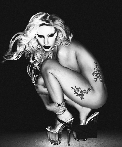 Nick Knight for Born This Way PhotoshootRaw photoretouch attempt