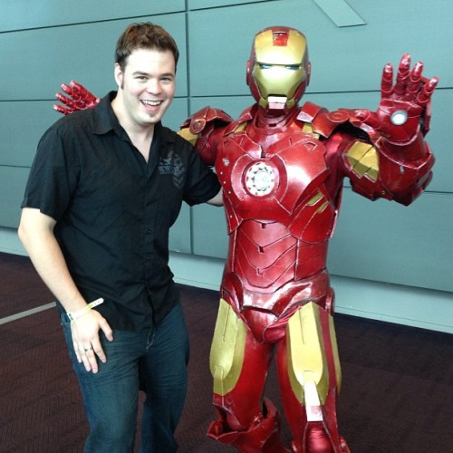 One does not simply go to Comic-Con without getting a photo with Iron Man! #ironman #comiccon #comic #con #scifi #2013