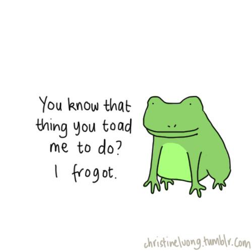 frog puns | Tumblr Frog Puns