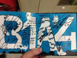 tayhanning:  2PM Chansung's gift from B1A4!! Congratz for the 1st win~~